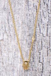 Shy by Sydney Evan Hand Necklace