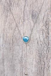 Native Gem Sea Blue Reflections Y-Necklace