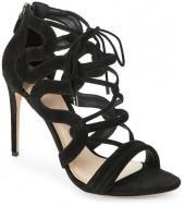 alexandre birman Black Elenara High Heel Sandals