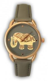 Olivia Pratt Women's Boho Elephant Quartz Watch