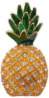 Napier Cubic Zirconia Pineapple Pin