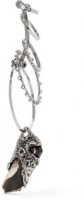 Alexander McQueen - Silver-tone Multi-stone Earring