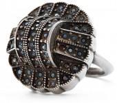 Ralph Lauren Art Deco Crystal Ring