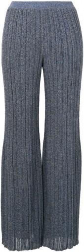 Missoni glittery effect pleated trousers