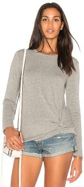 Stateside Viscose Fleece Sweatshirt in Gray. - size L (also in M,S,XS)