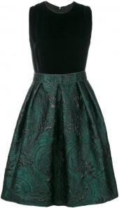 Max Mara floral jacquard dress
