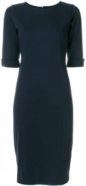 D.Exterior fitted dress