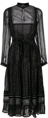 Dodo Bar Or high neck midi dress