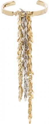 Loewe Leaf metal chain bracelet