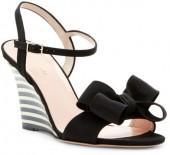 Kate Spade New York Iballa Grosgrain Bow Wedge Sandal