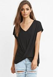 FOREVER 21 Twist-Front Top