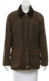 Barbour Coated Cargo Jacket w/ Tags