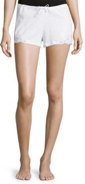 La Perla Souple Lace-Trim Drawstring Shorts