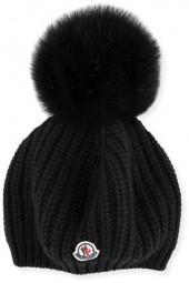 Moncler Jumbo Pompom Beanie Hat