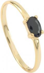 Etsy Black Stone ring - Black cz gold ring - Minimalist ring - Dainty ring - Minimalist jewelry - Engagem