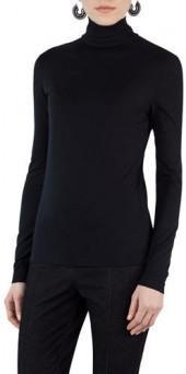 Akris Punto Jersey Velvet Biker Jacket