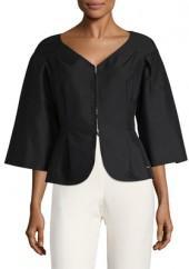 Cotton Bell Sleeve Jacket