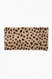 Matine Dark Wildcat Baguette Clutch