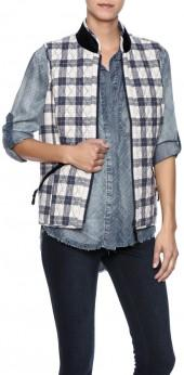 Tyler Boe Quilted Tailored Vest