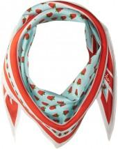 Echo Design Strawberry Silk Diamond Scarf