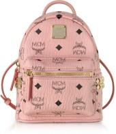 MCM Pink X-Mini Stark Backpack