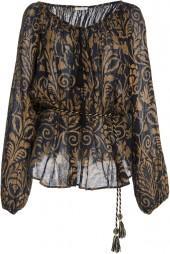 Mes Demoiselles Rococo Paisley Shirt
