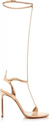 Francesco Russo Metallic Gladiator Sandal