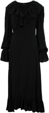 G.V.G.V. ruffled wrap dress