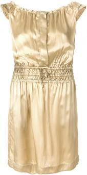 Tomas Maier ruched waist dress