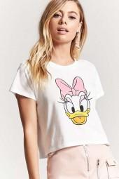 FOREVER 21 Daisy Duck Graphic Tee