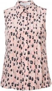 Carolina Herrera leopard print shirt
