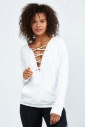 Alala Lace Up Hoodie