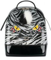 Furla tiger print backpack with eyes