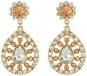 GUESS Stone Teardrop Luxe Earrings