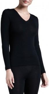 Hanro Silk-Blend V-Neck Top