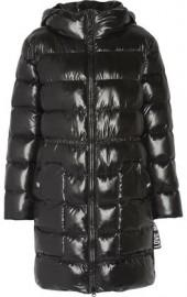 Love Moschino Quilted Coated Shell Jacket