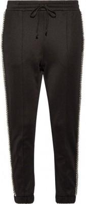 Gucci - Swarovski Crystal-embellished Striped Tech-jersey Track Pants - Black
