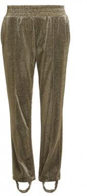 GOLDEN GOOSE DELUXE BRAND Dele straight-leg stirrup-hem track pants