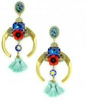 Elizabeth Cole Jewelry - Folia Earrings