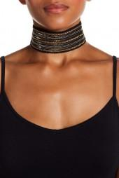 Free Press Mixed Media Wide Choker