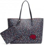 Reversible Starry Tote + Pouch