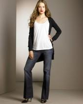 7 For All Mankind Bootcut Jeans, NY Dark