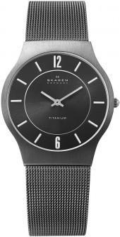 Skagen Denmark Watch, Men's Titanium Bracelet 233LTTM
