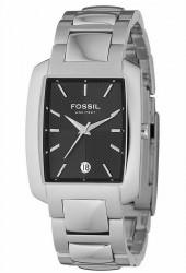 Fossil Men's Black Dial Watch