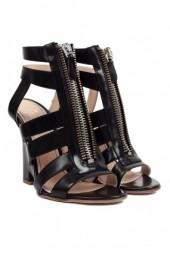 Jerome Rousseau Arcos Zippered Wedge Black