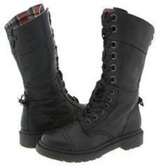 Dr. Martens - Triumph 1914 W (Black) - Footwear