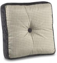 "Expresso 18"" Square Toss Pillow"
