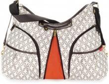 SKIP*HOP® Cream Link Versa Diaper Bag