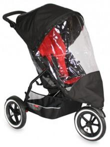 phil&teds Stormy Weather Cover for Single Strollers