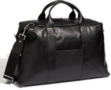 Jack Spade 'Wayne' Leather Duffel Bag